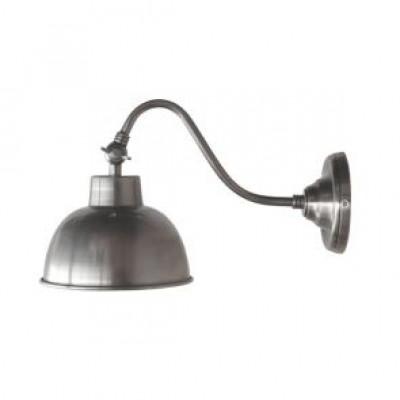 Wandlampe Friso | Antik-Silber Metall