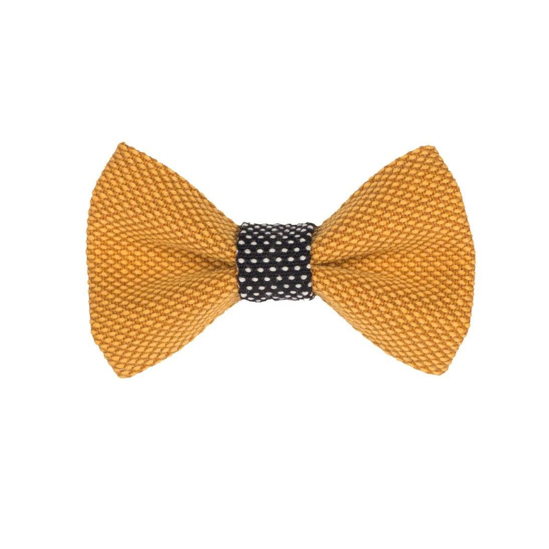 Yumi Bow Tie | Yellow-Black