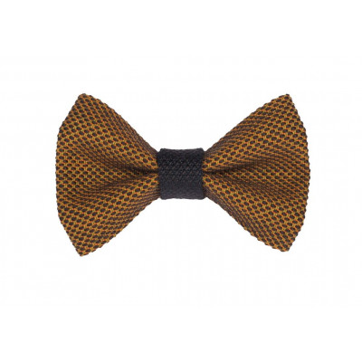 Yumi Bow Tie   Brown-Brown