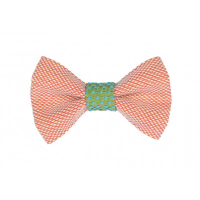Yumi Bow Tie   Pink-Green