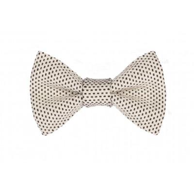 Yumi Bow Tie   White-White