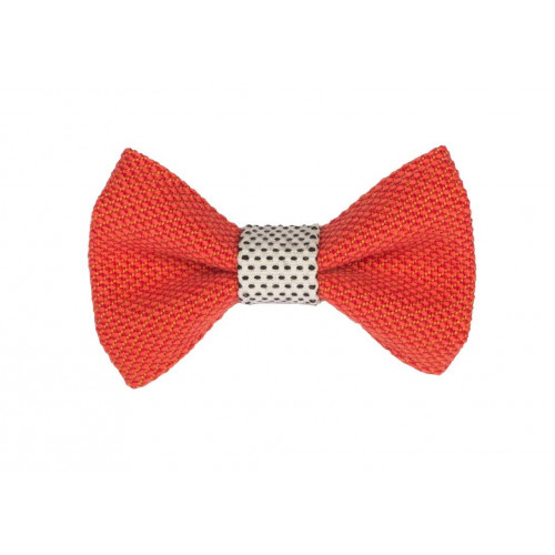 Yumi Bow Tie   Red-White