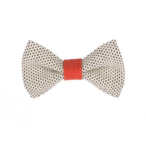Yumi Bow Tie | White-Red