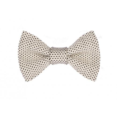 Yumi Bow Tie | White-White