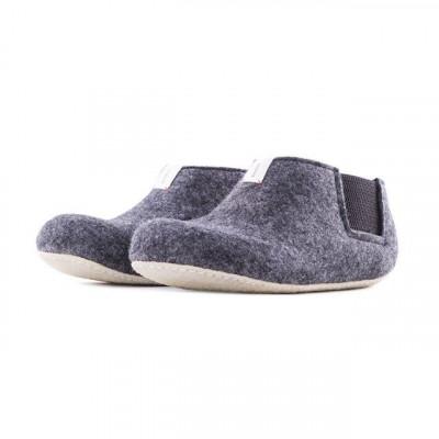 Slippers Yves | Dark Grey