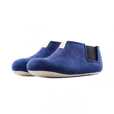 Slippers Yves | Navy Blue