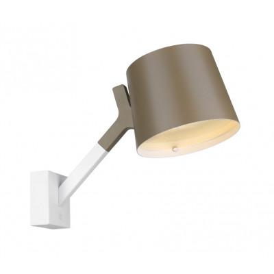 Wandlampe Y | Grau & Weiß