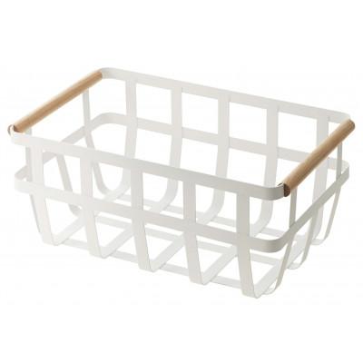 Storage Basket 2 Handles Tosca | White