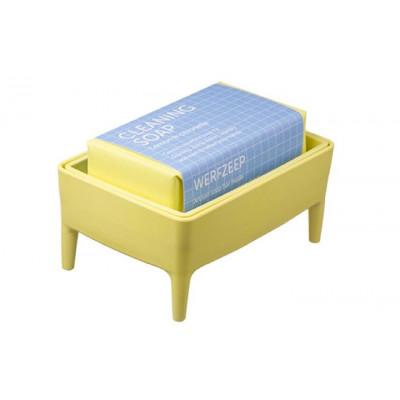 Bubble Buddy Holder + Soap Bar | Mellow Yellow