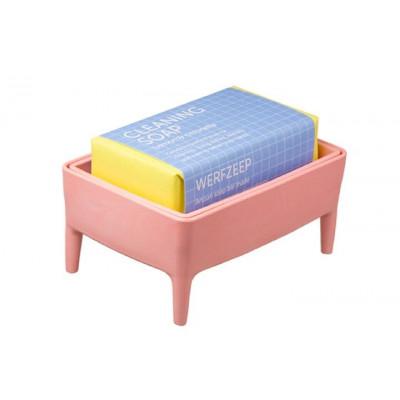 Bubble Buddy Holder + Soap Bar | Millenial Pink