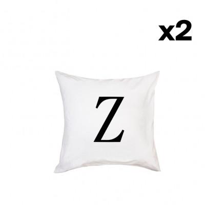 2er-Set Kissenbezügen | Z