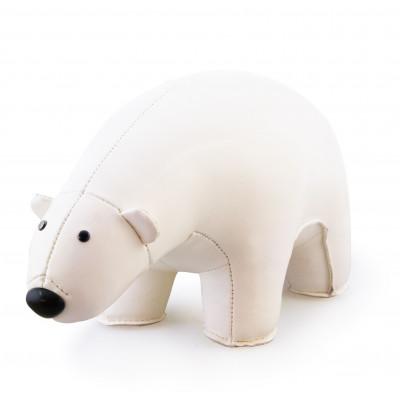 Buchstütze Eisbär