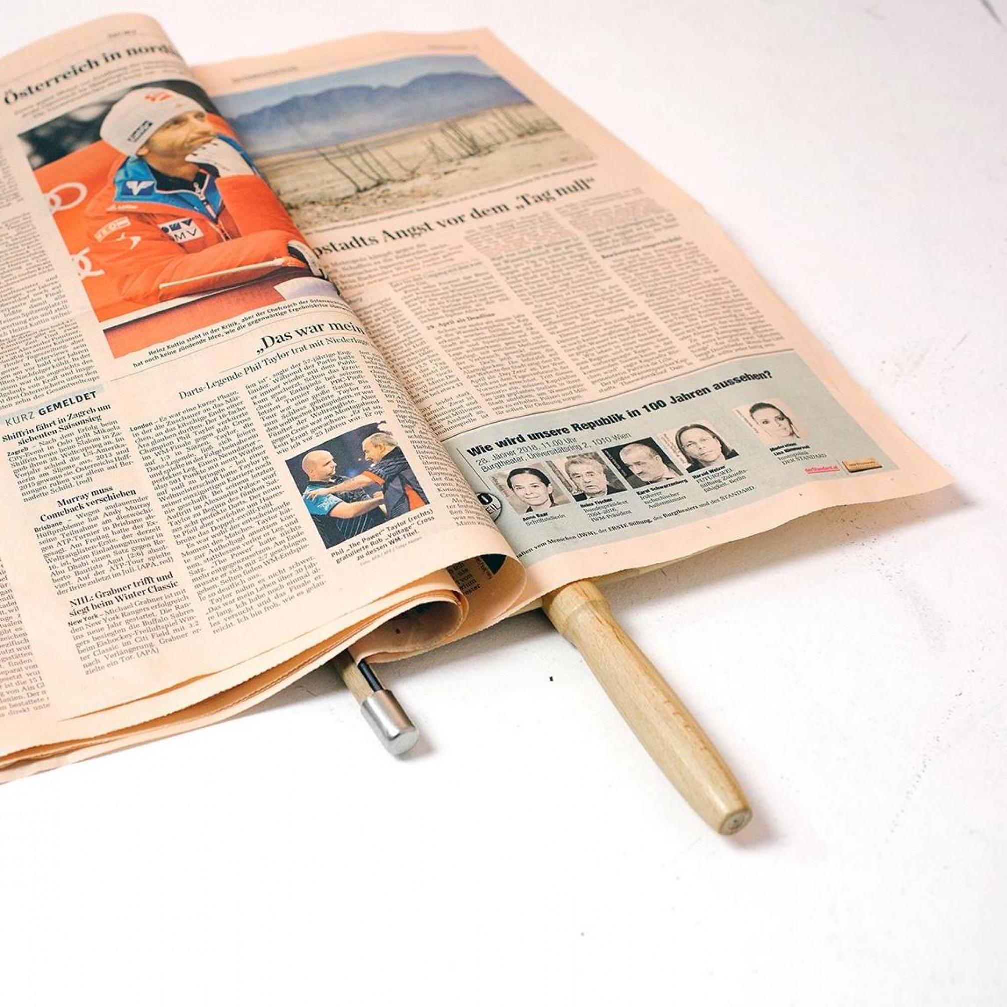 Zeitungshalter Nature   60 cm