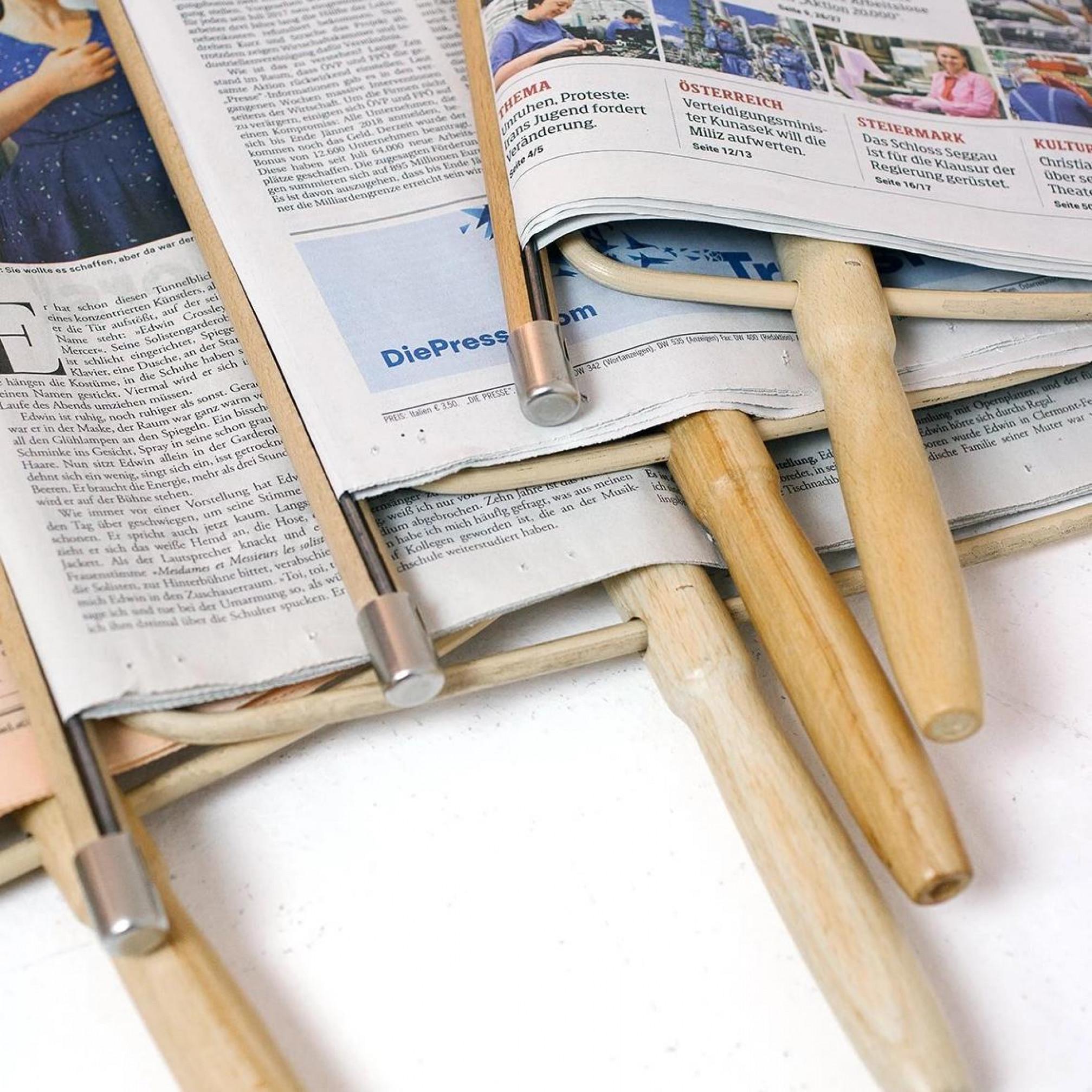 Zeitungshalter Nature   65 cm