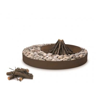 Zen Fire Pit Oxidised