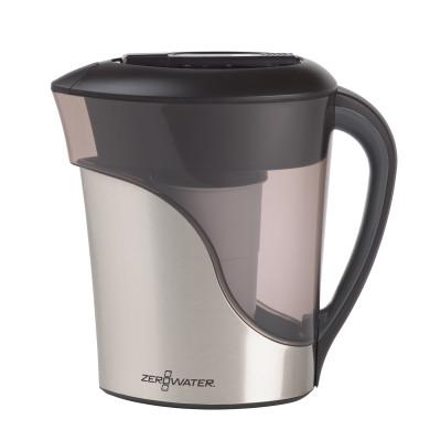 11-Tassen-Fertiggießkrug 2,5 l | Rostfreier Stahl