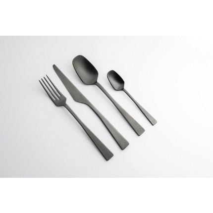 Zest Cutlery Ice Black Set   24 Pieces