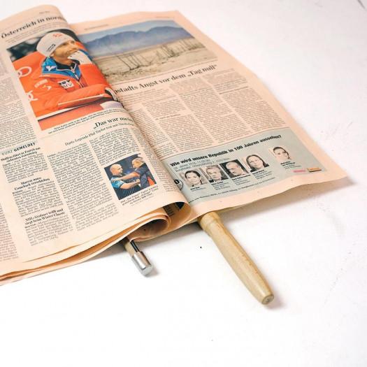 Zeitungshalter Nature | 40 cm