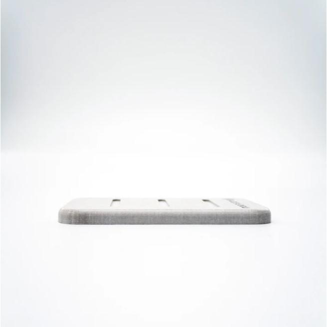 Seifenhalter Kieselgur | Weiß