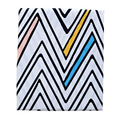 Fitted Sheet Cot | Zig Zag