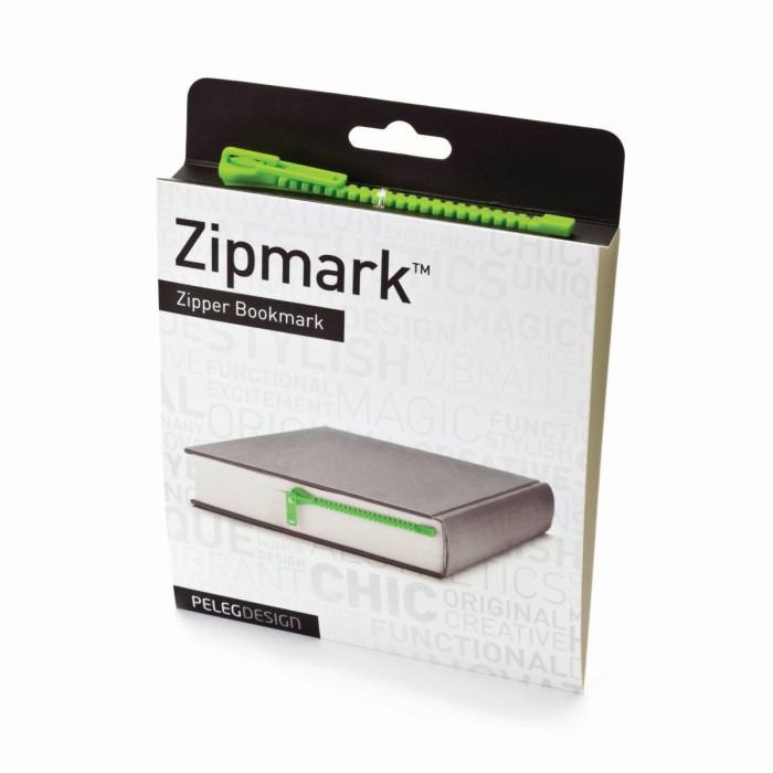 Marque-page Zipmark   Vert