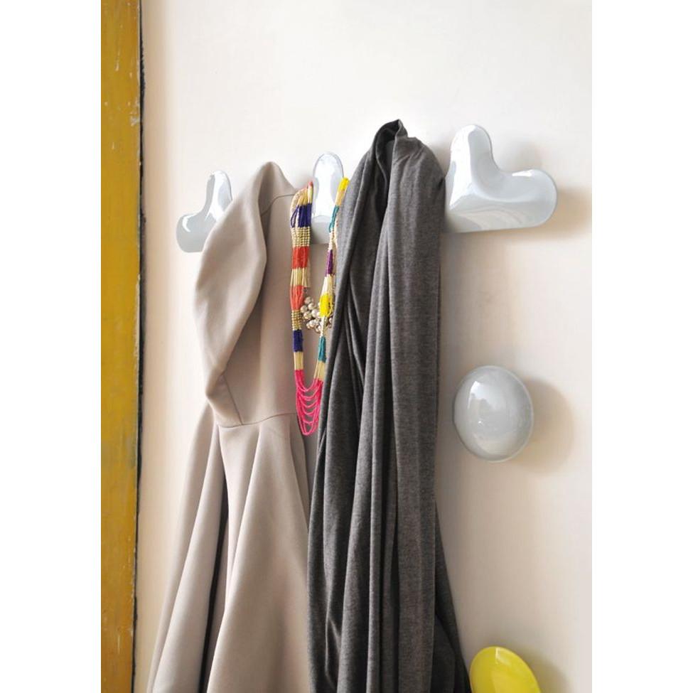 PIN-wall hanger, set of 3 YELLOW