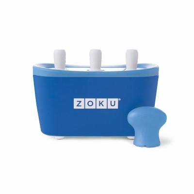 Schnell-Eis-Pop-Maker Triple | Blau