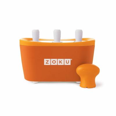 Schnell-Eis-Pop-Maker Triple  | Orange
