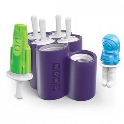 Set of 6 Space Pop Molds | Purple