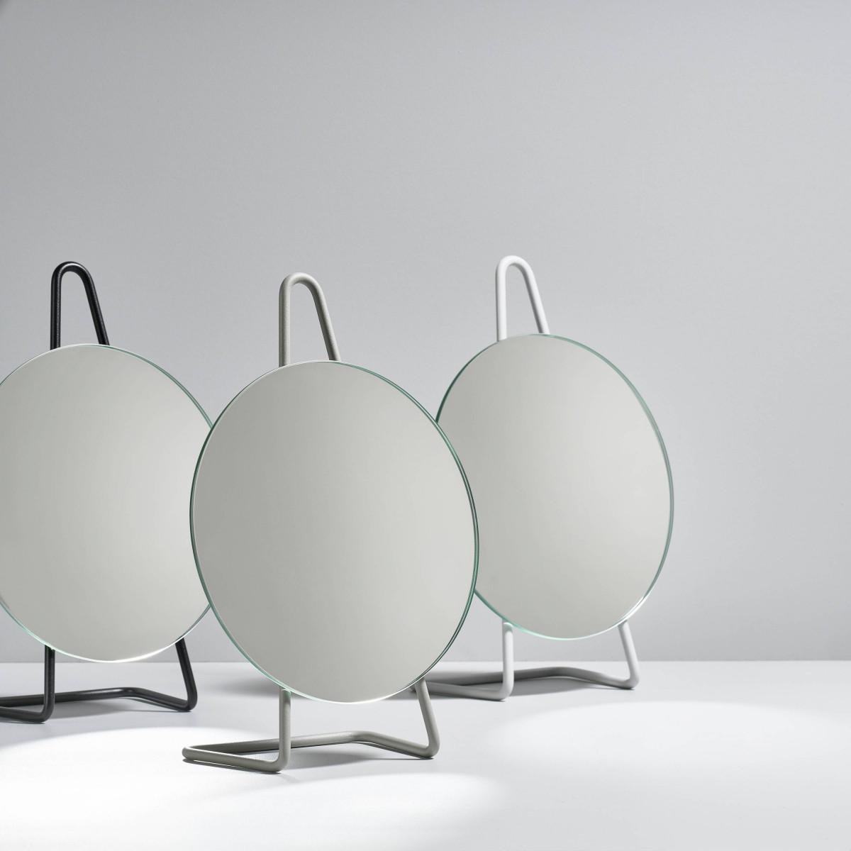 Tisch-Spiegel A-mirror | Schwarz