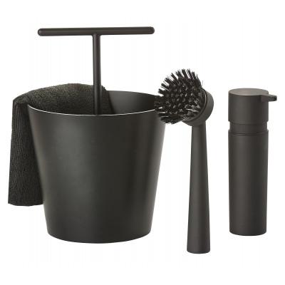 Set Vaiselle Bucket   Noir