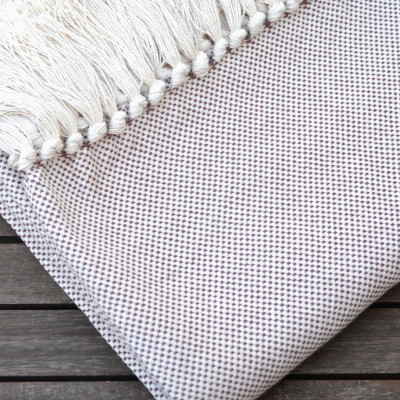 Fouta Blanket | Red Wine