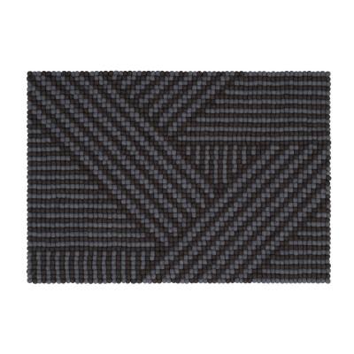 Teppich Weave Felt Ball 90 x 130 cm
