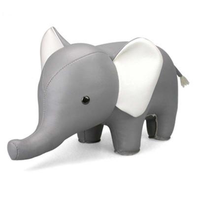 Buchstütze Elefant | Grau