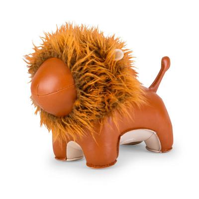 Buchstütze Löwe