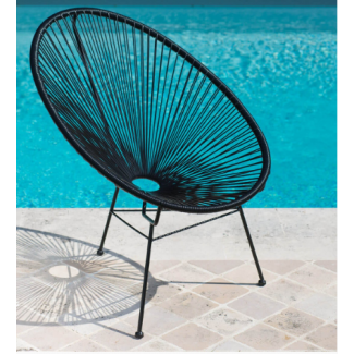 Acapulco Chair | Black