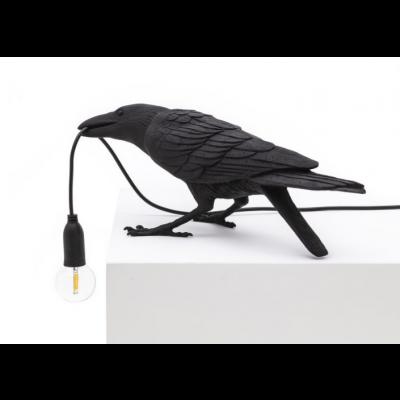 Lampe Vogel Spielen | Schwarz