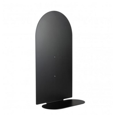Regal Aureole lang mit runder Spitze | Schwarz