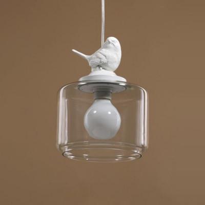 Nordic Pendant Light Bird   Glass