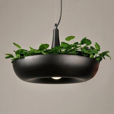 LED Hanging Lamp   Plant Holder