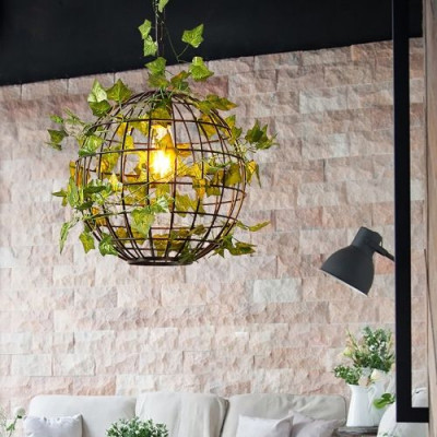 Metal Plant Hanging Lamp