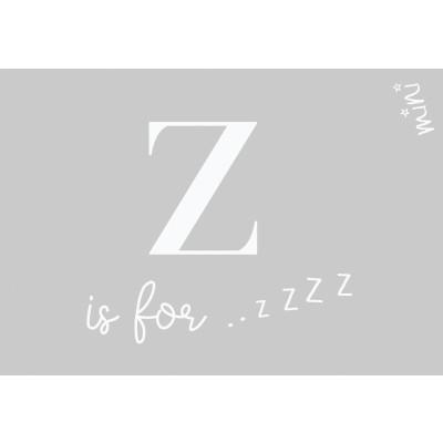 Fußmatte Touch ZZZ   50 x 75 cm