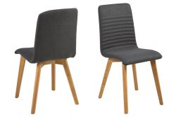 Set of 2 Chairs Arosa | Anthracite