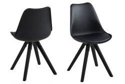 Chairs Nida Set of 2 | Black
