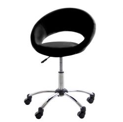 Plump Office Chair | Black