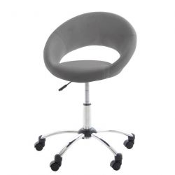 Plump Office Chair | Grey