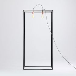 Floor Lamp Metric M | Black