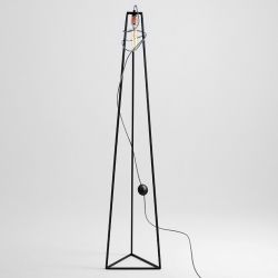 Floor Lamp Trimetric | Black