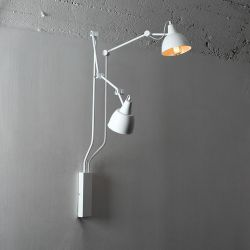 Muurlamp Coben 02 | Wit