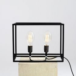 Table Lamp Metric | Black